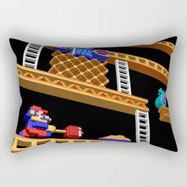 Inside Donkey Kong stage 2 Rectangular Pillow
