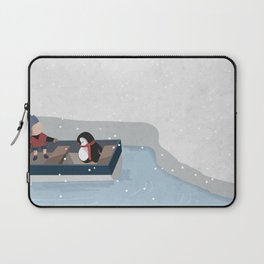 Reaching the South Pole Laptop Sleeve
