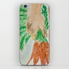 Gardeners hands iPhone Skin