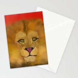 Color Pop Lion Stationery Cards