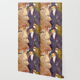 "Henri de Toulouse-Lautrec ""The Englishman (William Tom Warrener, 1861–1934)"" Wallpaper"
