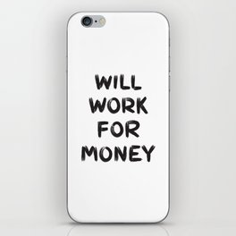 Money iPhone Skin