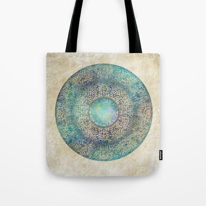 Moon Mandala Tote Bag