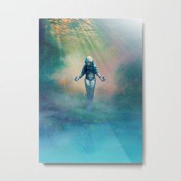 Crucified in Time Metal Print