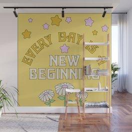 New Beginnings Wall Mural