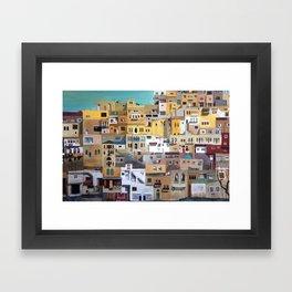 Salt City/Jordan Framed Art Print