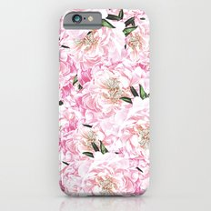 Peonies Pattern iPhone 6s Slim Case