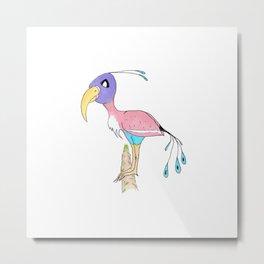 Odd Bird Out Metal Print