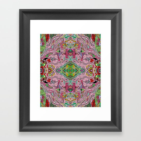 Is (version 3) Framed Art Print