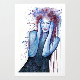 Colors in Disguise Art Print