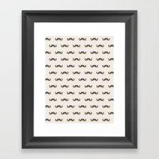 Mustitch (Pattern) Framed Art Print