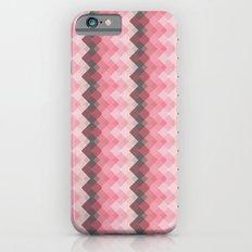 Pink  Chevron  iPhone 6s Slim Case