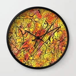 Sunset Projected Wall Clock
