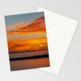 Sunset Sailboat Panorama Stationery Cards