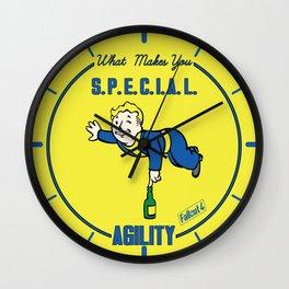 Agility S.P.E.C.I.A.L. Fallout 4 Wall Clock