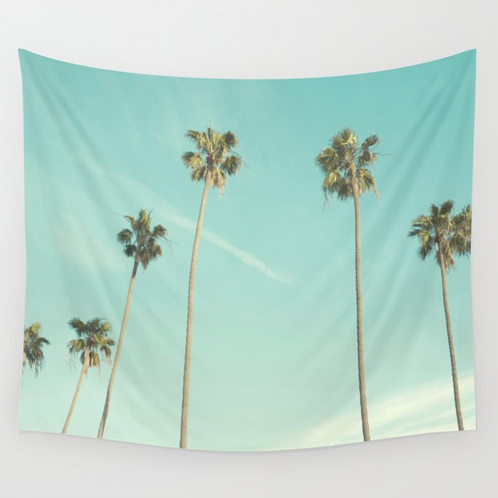 Palm Trees 2 Wall Tapestry