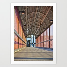 The Walk Way Art Print