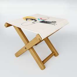 Here comes the Sun Folding Stool