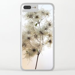 Florales · plant end 8 Clear iPhone Case
