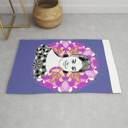 Selina in sky with diamonds Rug