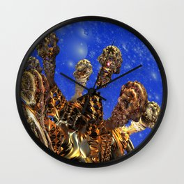 Android Skeleton Wall Clock