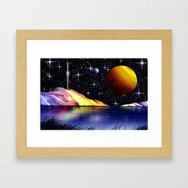 Exoplanet Nr.936. Framed Art Print