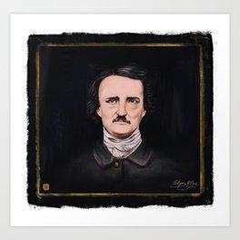 Edgar A. Poe Art Print