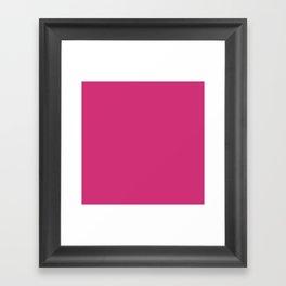 Chewing Gum Pink Framed Art Print