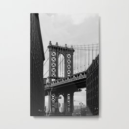 new york city ... manhattan bridge III Metal Print
