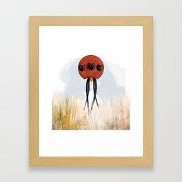 Squidis Beakifidus Framed Art Print