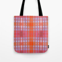wallpaper Tote Bags featuring Wallpaper by Kaos and Kookies