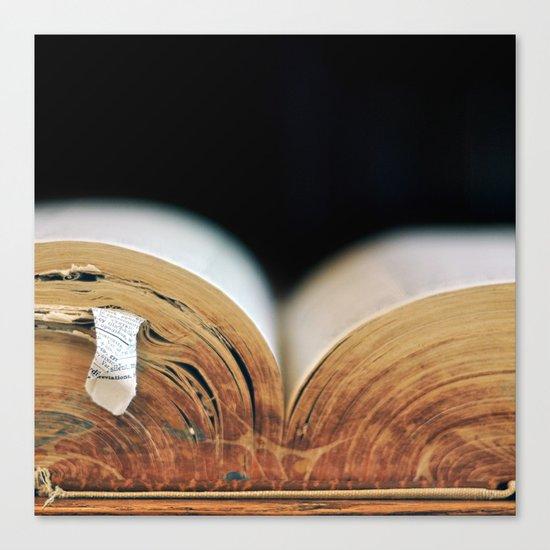 Tome Canvas Print