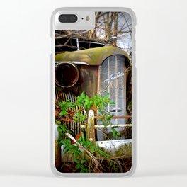 Virginia - Old Car LaSalle Clear iPhone Case
