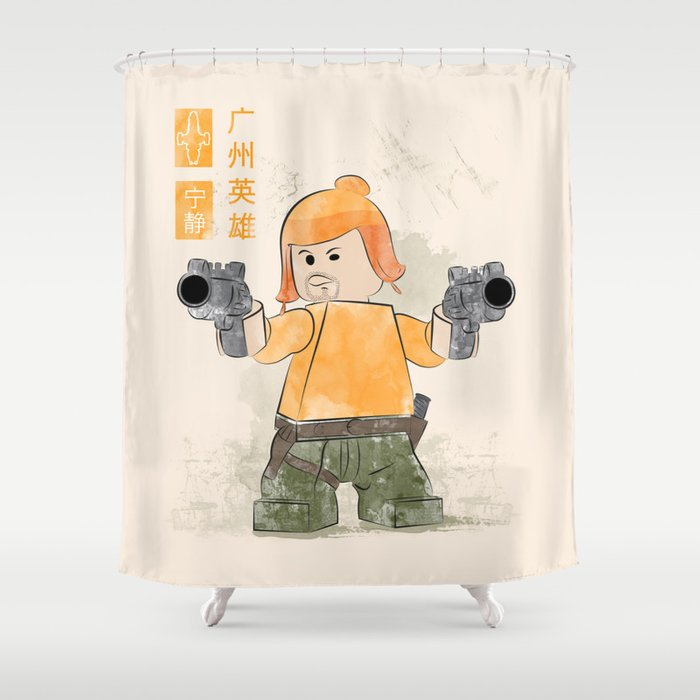 The Hero Of Canton Lego Firefly Shower Curtain