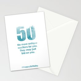 AgeIsJustANumber-30-SkyBurstB5 Stationery Cards