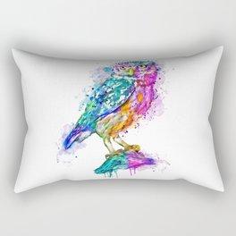 Colorful Owl Rectangular Pillow
