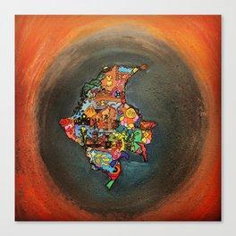 Colombia Tierra Querida Canvas Print