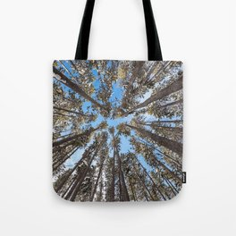Yellowstone National Park - Lodgepole Forest Tote Bag