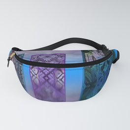 exhibition under sky Fanny Pack