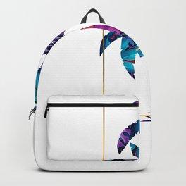 Beachy Summertime Palmtrees Backpack