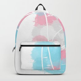 Transgender Pride Backpack