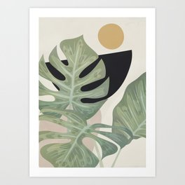 Elegant Shapes 16 Art Print