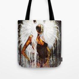 Velveteen Tote Bag