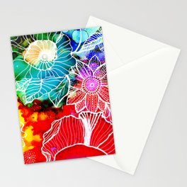 Aloha Floral Stationery Cards
