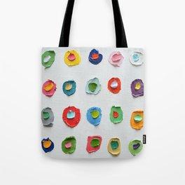 Concentric Polka Daubs 2 Tote Bag