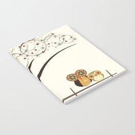 Owl Burst Notebook