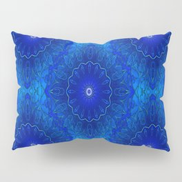 Les fleurs sont bleues Pillow Sham