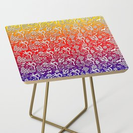 Rainbow White Joshua Tree by CREYES Side Table