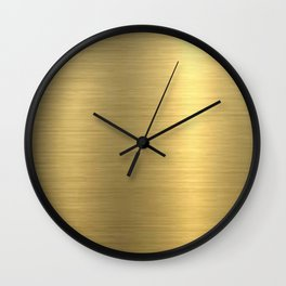 gold home decor Wall Clock