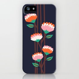 Benoít Flowers iPhone Case